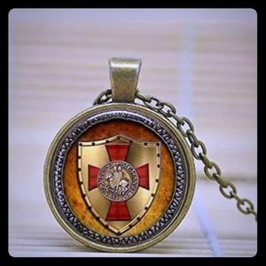 The Knights Templar Pendant Necklace